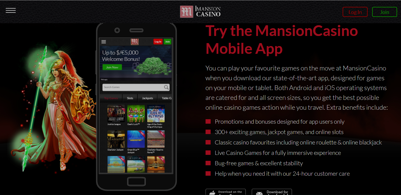 Mansion Casino Reviews